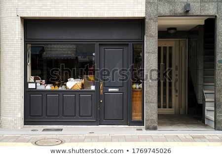 porta · magazzino · grande · camion · sicurezza · distribuzione - foto d'archivio © grafvision