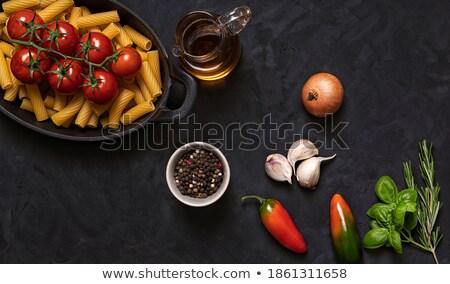 świeże pomidory rustykalny metal puchar warzyw Zdjęcia stock © Valeriy