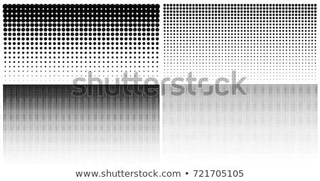 Meio-tom padrões conjunto círculo gradiente Foto stock © ESSL