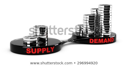 High Demand Low Supply Graph Concept Stock photo © ivelin