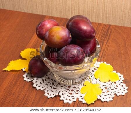 Delicioso suculento guardanapo acima Foto stock © dash