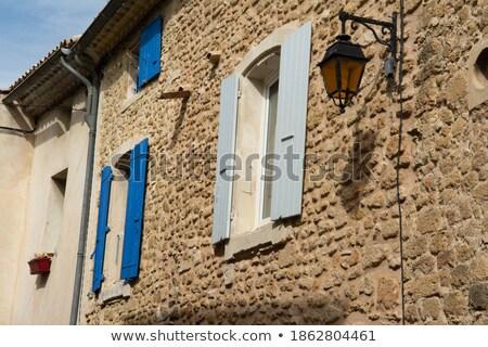 古い 石 住宅 窓 表示 ストックフォト © bezikus