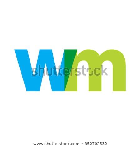 青 ロゴ ロゴタイプ ウェブ グループ ストックフォト © blaskorizov