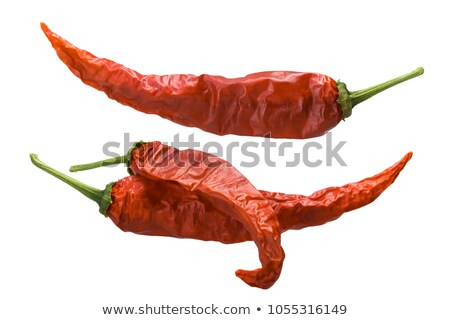 Dried Guajillo chiles, paths Stock photo © maxsol7