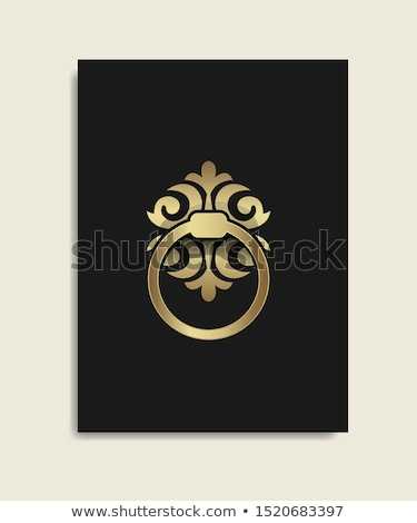 Ancient italian door knocker ring  Stock photo © marylooo