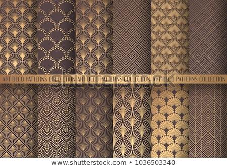 Concha conjunto padrão eps 10 Foto stock © netkov1