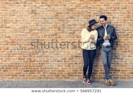 Paar dating geluk meisje Stockfoto © Lopolo