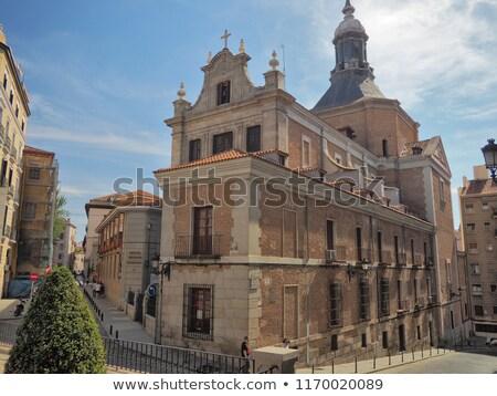 Kościoła Madryt centralny Hiszpania budynku Europie Zdjęcia stock © borisb17