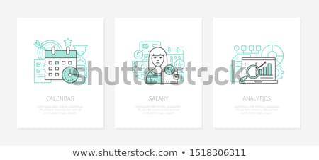 stile · infografica · contabili · finanziare · web - foto d'archivio © decorwithme