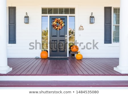 Fall front door Stock photo © jsnover