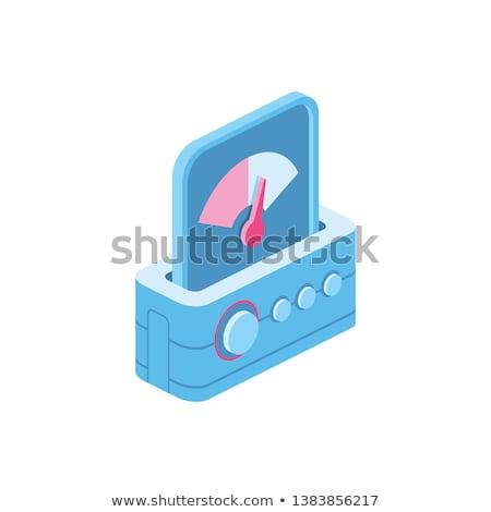 Velocímetro icono signo poder medición Foto stock © kyryloff