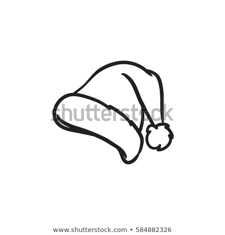 cap headdress icon vector outline illustration Stock photo © pikepicture