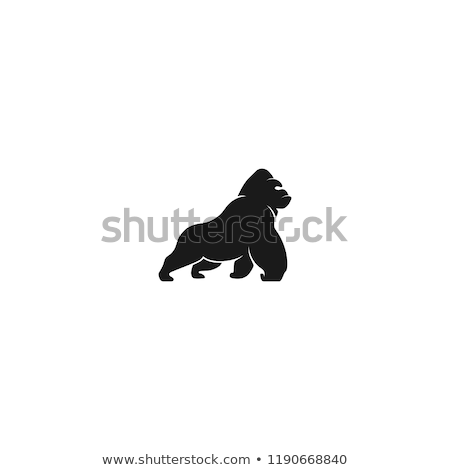 Gorilla with a sign Stock photo © bennerdesign