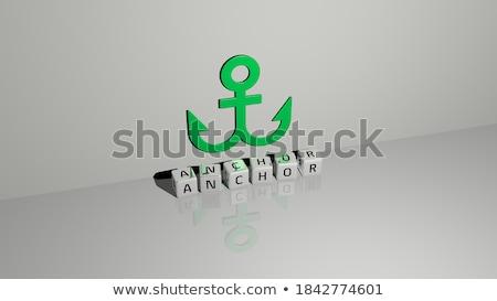 Metaal 3D 3d render illustratie geïsoleerd witte Stockfoto © djmilic