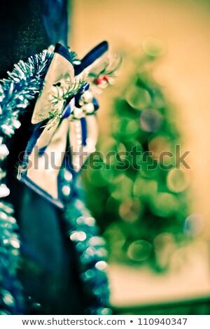 クリスマス 装飾 ボール 孤立した 星 ブーツ ストックフォト © xaniapops