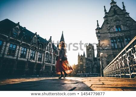 Tél Belgium Stock fotó © Klodien