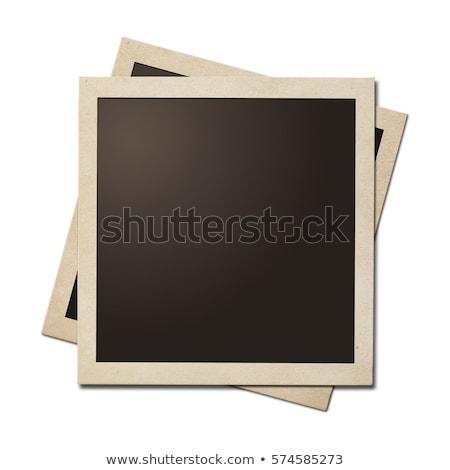 Polaroid łatwe rodziny papieru Zdjęcia stock © UPimages