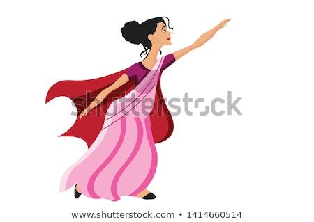 Przezroczy taniec dziewczyna dance dziecko projektu Zdjęcia stock © jirkaejc