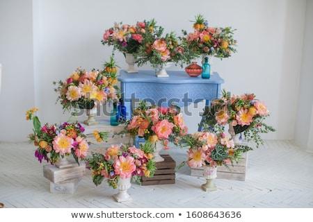 Beautiful Flower Bouquet Arrangement Stock photo © cr8tivguy