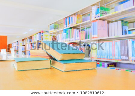 Old book's internal hardcover Stock photo © icefront