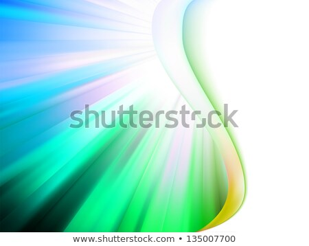 Colorful smooth twist red light lines. EPS 8 Stock photo © beholdereye