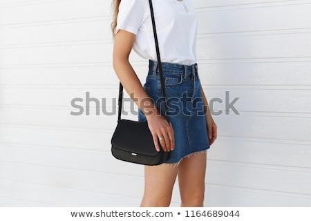 denim skirt stock photo © dolgachov