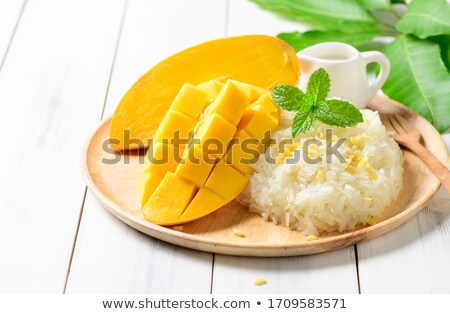 thai · dessert · zoete · banaan · blad - stockfoto © yuliang11