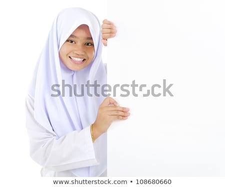 南東 アジア 代 学生服 学校 袋 ストックフォト © szefei