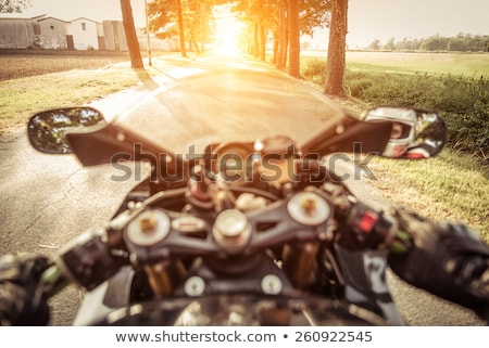 Side of a superbike Stock photo © Forgiss