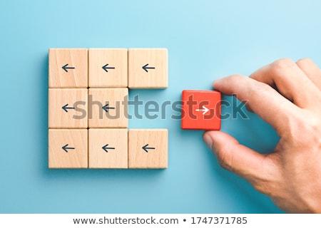individual thinking stock photo © lightsource