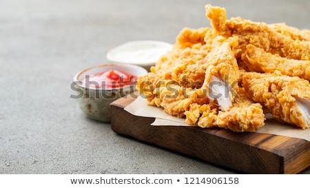 Stock photo: Chicken Strips