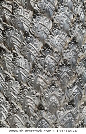 metal stamping silver temple fragment stock photo © ruslanomega