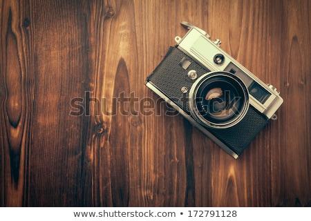 Old vintage camera background Stock photo © deyangeorgiev