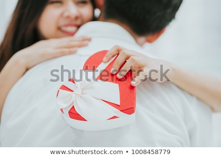 Woman embracing her boyfriend Stock photo © photography33