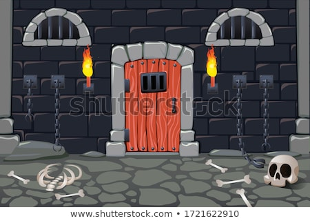 Castle dungeon Stock photo © taden