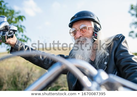 Man motorcyclist Stock photo © adrenalina