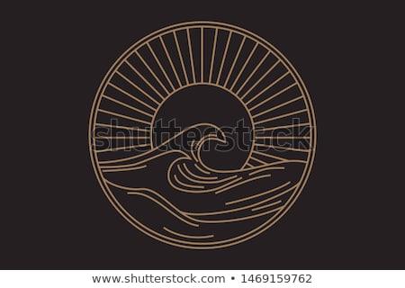 солнце волны воды морем красоту лет Сток-фото © rabel