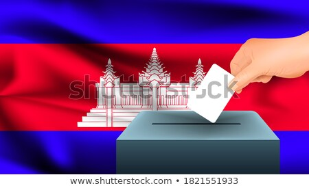 Ballot box Cambodia Stock photo © Ustofre9