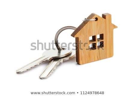 Bunch of house keys Stock photo © Supertrooper