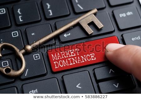 dominating the market stock photo © lightsource
