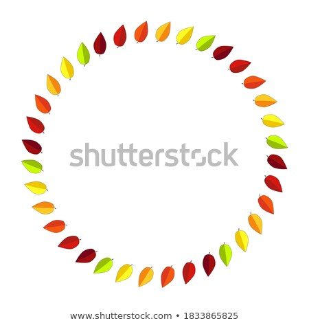 декоративный осень орнамент пространстве текста Сток-фото © elenapro