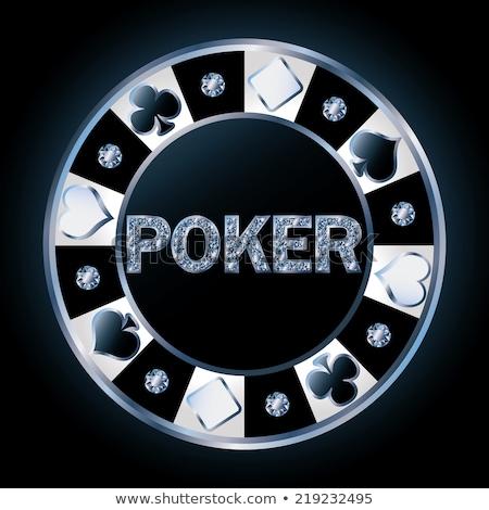 brillante · poker · soldi · party · moda · vetro - foto d'archivio © carodi