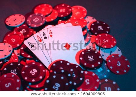 お金 ポーカー 表 孤立した 白 金融 ストックフォト © Studio_3321
