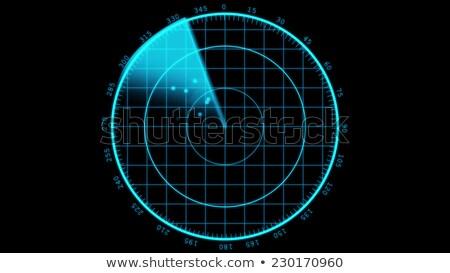 現代 レーダー 表示 飛行 スキャナー 地図 ストックフォト © klss