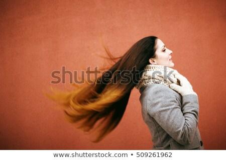 Windy hairstyle Stock photo © Novic