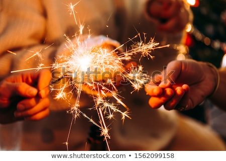 Christmas sparkler Stock photo © mady70