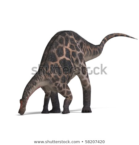 Dinossauro 3d render branco animal objeto Foto stock © mariephoto