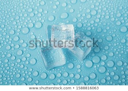 vízcseppek · fém · senki · vízszintes - stock fotó © zerbor