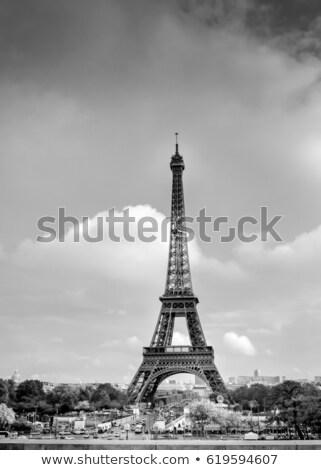 Torre · Eiffel · foto · cidade · barco · banco · arquitetura - foto stock © Dermot68