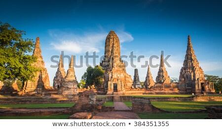 Storico pagoda tempio città costruzione Foto d'archivio © tang90246
